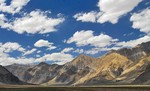 Landschap in Ladakh,
