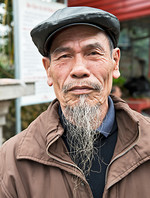 Vietnamese old man