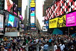 TIME SQUARE**, NEW Y